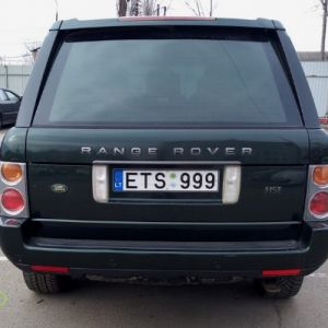 This car has long been out of the EU. It was illegally imported and sold to Ukraine.