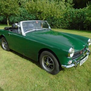 Looking for this 1972 MG Midget British Racing Green. Was registration RCH416L now PXI113.