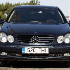 Mercedes-Benz CLC-klass 5.0, 2002 esimene registreerimine. 7 900 €. Kõik lisad, millel on