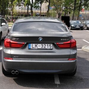 The driver does not want to reckon with other drivers and takes two parking spaces with hi