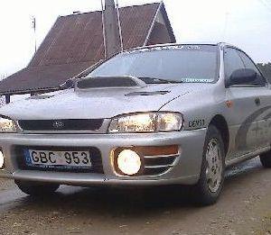 Parduodamas Subaru Impreza Sedan 1.6, 1999 metai. Geros būklės. Kaina: 1 700 €.